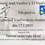 Vasiľovským chotárom 2015